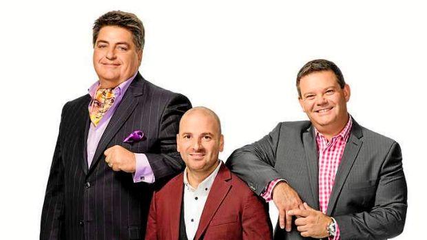 Reality check: <em>Masterchef</em> hosts Matt Preston, George Calombaris and Gary Mehigan.