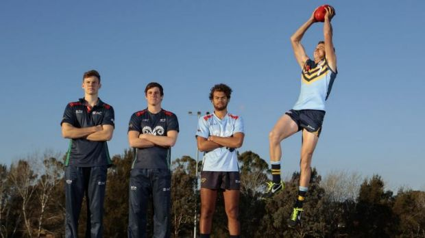 Canberra hasn't had a player drafted since the Western Bulldogs took Jason Tutt in 2009.