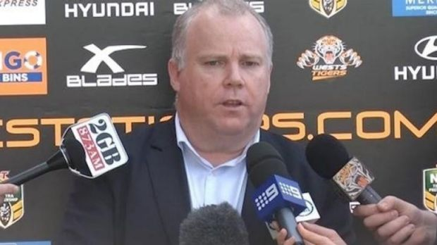 Tigers chief executive Grant Mayer.