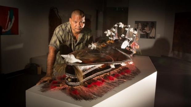 Alick Tipoti won the 3D category with <i>Kaygasiw Usul</i>.