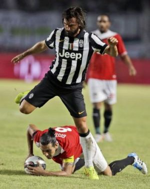 Worth the price of admission: Juventus great Andrea Pirlo.