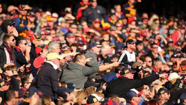 The Adelaide Oval has seen an increase in attendances for AFL games this year.