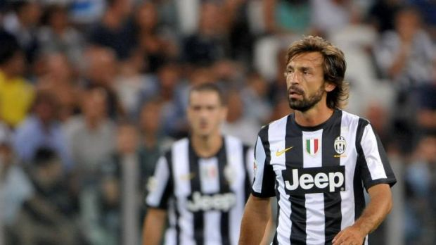 Game changer: Andrea Pirlo's football mastery will be on show against the A-League All Stars.