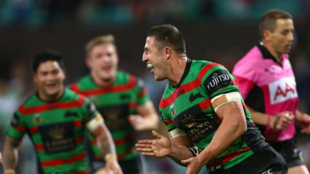 Keeping a lid on things: South Sydney star Sam Burgess has warned his teammates to not look too far ahead.