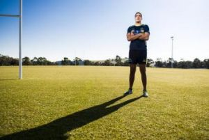 ACT Brumbies recruit Rory Arnold, the tallest player in Super Rugby.