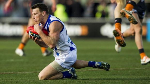 Brent Harvey was one of North Melbourne's best players with 29 disposals.