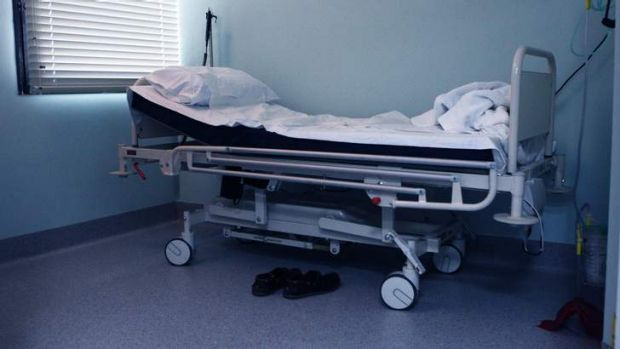There have been reports of people being turned away or given substandard care due to shortages.