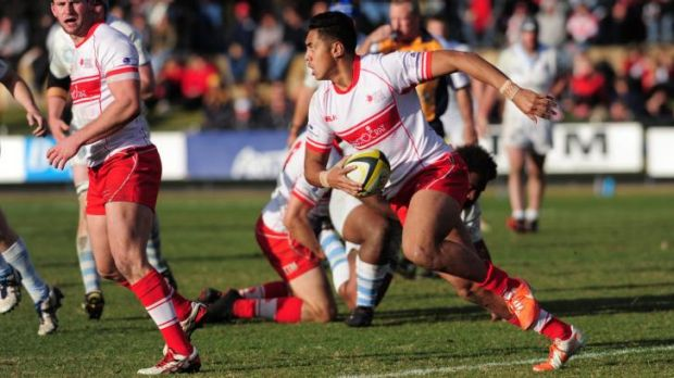 Nigel Ah Wong was outstanding for the Vikings in Saturday's John I Dent Cup grand final.