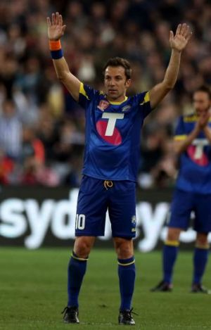 Ciao: Italian great Alessandro Del Piero farewells Australian football.