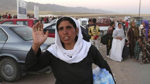 Yazidi women have reportedly been kidnapped by Islamic State militants.