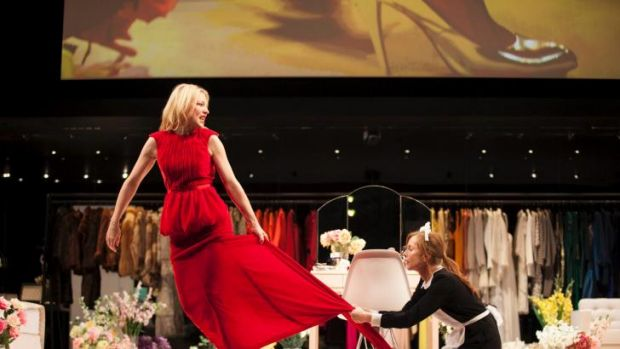 Twisted sisters: Cate Blanchett and Isabelle Huppert in Sydney Theatre Company'sThe Maids, now playing in New York.