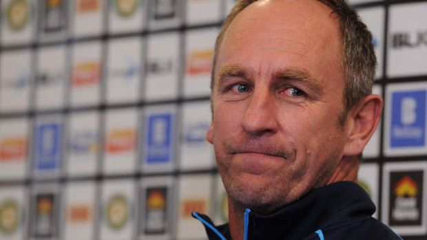 End of an era: John Cartwright has farewelled the Titans with a final game loss to the Roosters at Allianz Stadium.