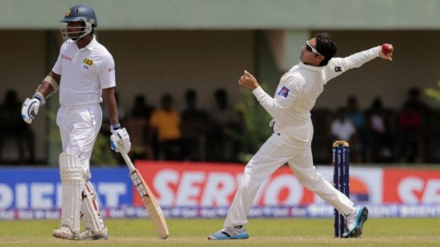 Under scrutiny: Pakistan cricketer Saeed Ajmal.