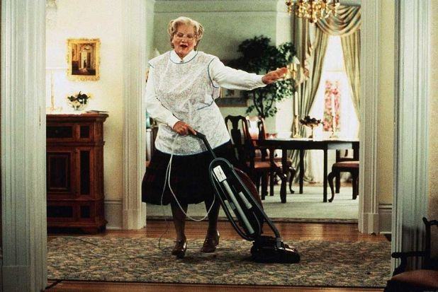 Robin Williams' performance in <i>Mrs Doubtfire</i> won him the 1994 Golden Globe for best performance by an actor in a ...