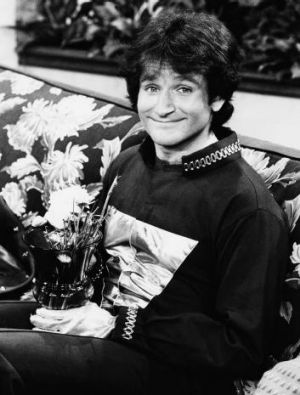 Robin Williams became famous playing an alien and gave every impression of having arrived from the stars himself to ...