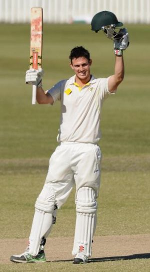 Mitchell Marsh appears ready to put the off-field issues, that have crept up from time to time, behind him.