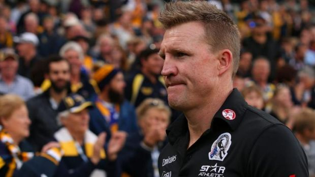Nathan Buckley acknowledges that the Pies probably performed above expectations by turning into the second half of the ...