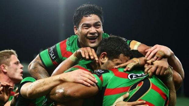 Energiser Bunnies: The Rabbitohs are on track to win their first premiership since 1971.
