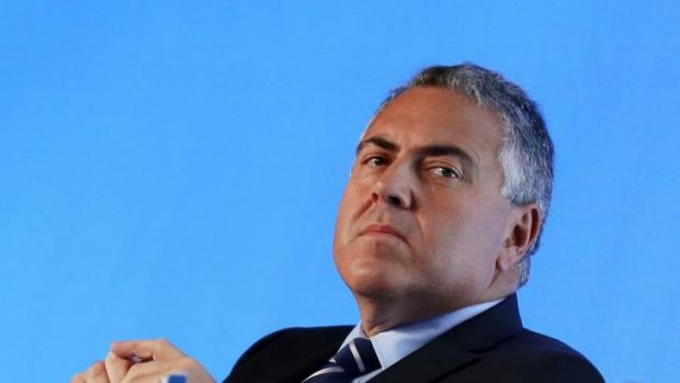 Joe Hockey's office called the police on protesters at his office.