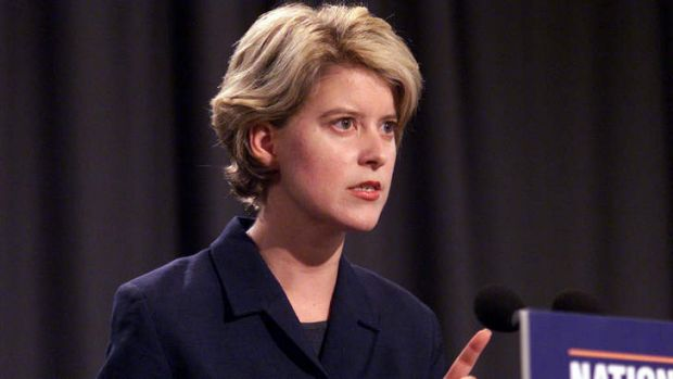 Democrat leader Natasha Stott-Despoja turned down treasurer Peter Costello's budget plans in 2002.