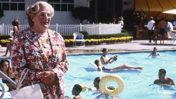 <i>Mrs Doubtfire</i> screened on Channel Ten on Tuesday night, pulling in 1.6 viewers.