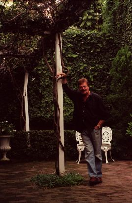 Peter Sculthorpe at home in Sydney just before turning 70.