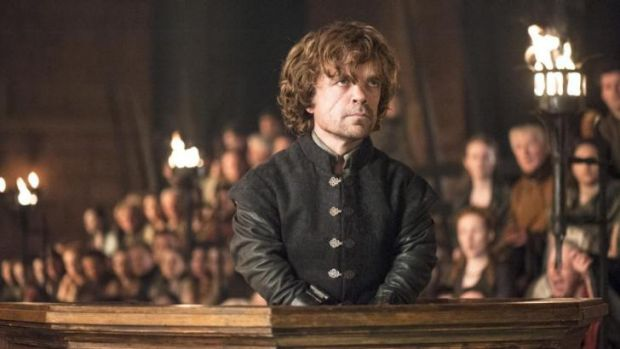 Up for Outstanding Supporting Actor in A Drama Series, Peter Dinklage as Tyrion Lannister.