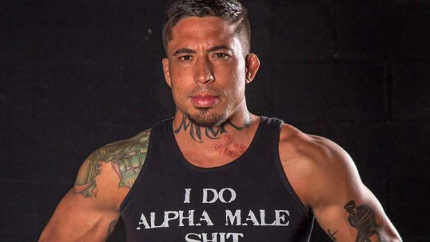 Wanted man: MMA fighter War Machine.