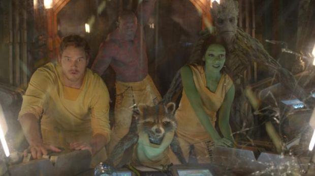 Latest release: <i>The Guardians of the Galaxy</i> gave some of Marvel's lesser-known characters an outing.