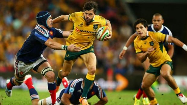 """""""We have to be more physical, more determined"""": Adam Ashley-Cooper."""