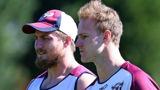 Souths are No.1: Manly half Daly Cherry-Evans (right) said South Sydney deserve top billing in the NRL.