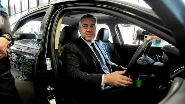 Rough road: Joe Hockey's suggestion that an increased fuel excise who not hit the poor has brought a stiff response from ...