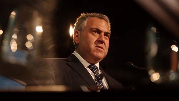 """""""The poorest people either don't have cars or actually don't drive far in many cases"""": Treasurer Joe Hockey."""