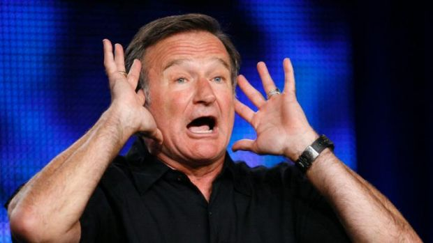 """""""Started to disconnect': comedian Robin Williams."""