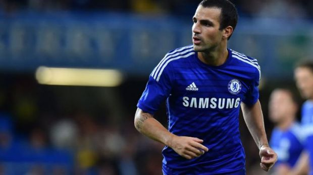 """""""My ambitions are to win absolutely everything"""": Chelsea signing Cesc Fabregas."""