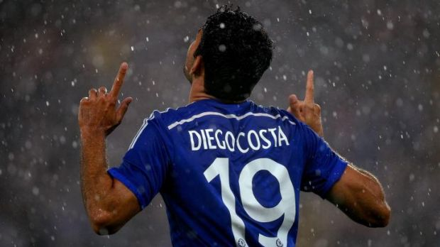 Beneficiary: Chelsea's Diego Costa is sure to benefit from Cesc Fabregas' creative talents.