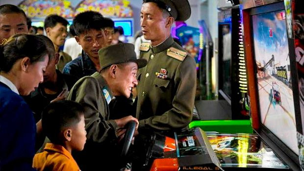 Pop culture flows across the Chinese border into North Korea.