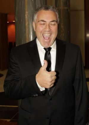 """You've got to be who you are"": Treasurer Joe Hockey."