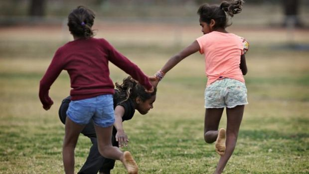 Bend it like Beckham: The girls play league in Wilcannia.