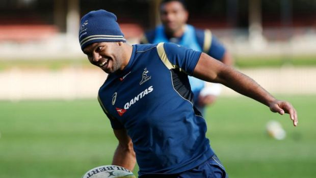 Super reward: Kurtley Beale is back in the Wallabies No.10 jersey for the first time since 2012.