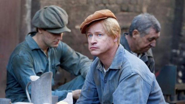 Golden, olden days: Robert Gustafsson, as a younger Allan Karlsson, in <i>The Hundred Year Old Man Who Climbed Out a ...