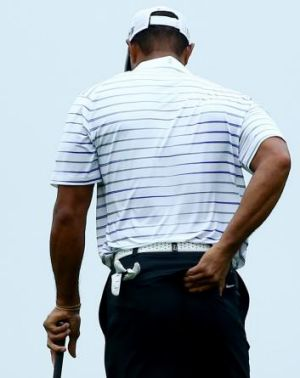 Painful: Tiger Woods told to rest.