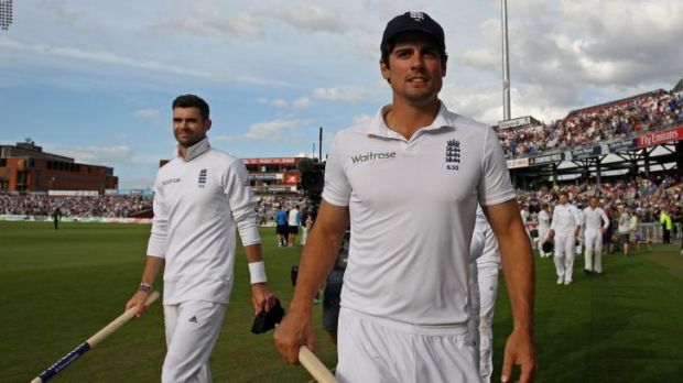 Positive results: A series win is within grasp for England.