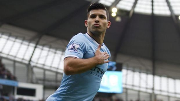 """""""This club is special; the fans, the stadium, the staff, the atmosphere - everything"""": Sergio Aguero."""