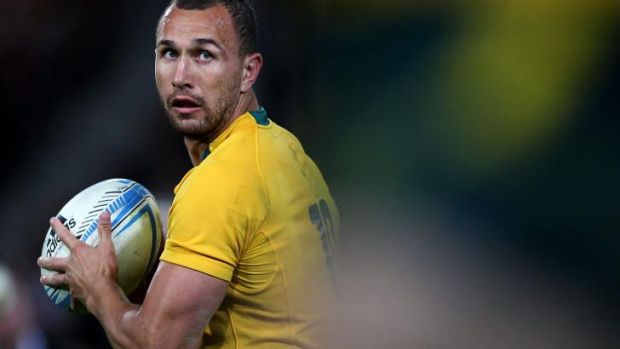 Options: Quade Cooper may yet leave Australian rugby.