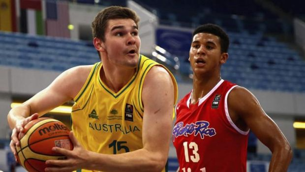 Australian centre Isaac Humphries finished the game with 16 points and 11 rebounds.