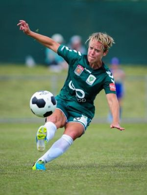 Lori Lindsey is hoping to leave Canberra United on a high.