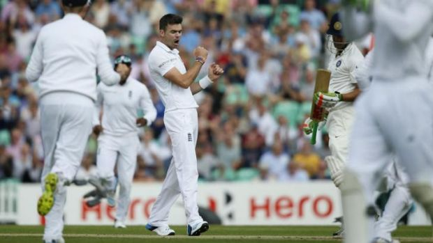 Man of influence: England's paceman James Anderson.