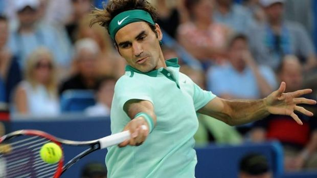 """I was the more aggressive player out there"": Roger Federer."