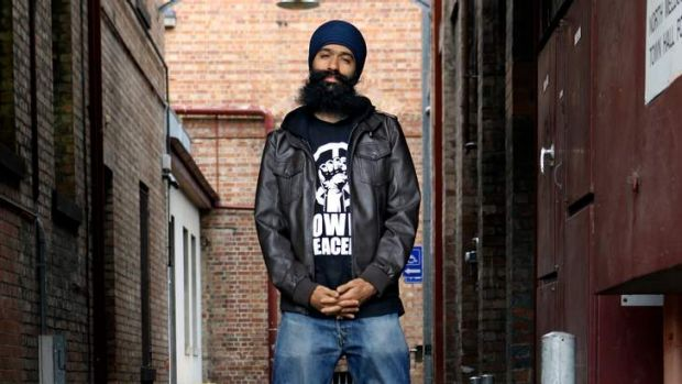 Rapper Sukhdeep Singh, aka L-FRESH the LION, is an ambassador against racism.